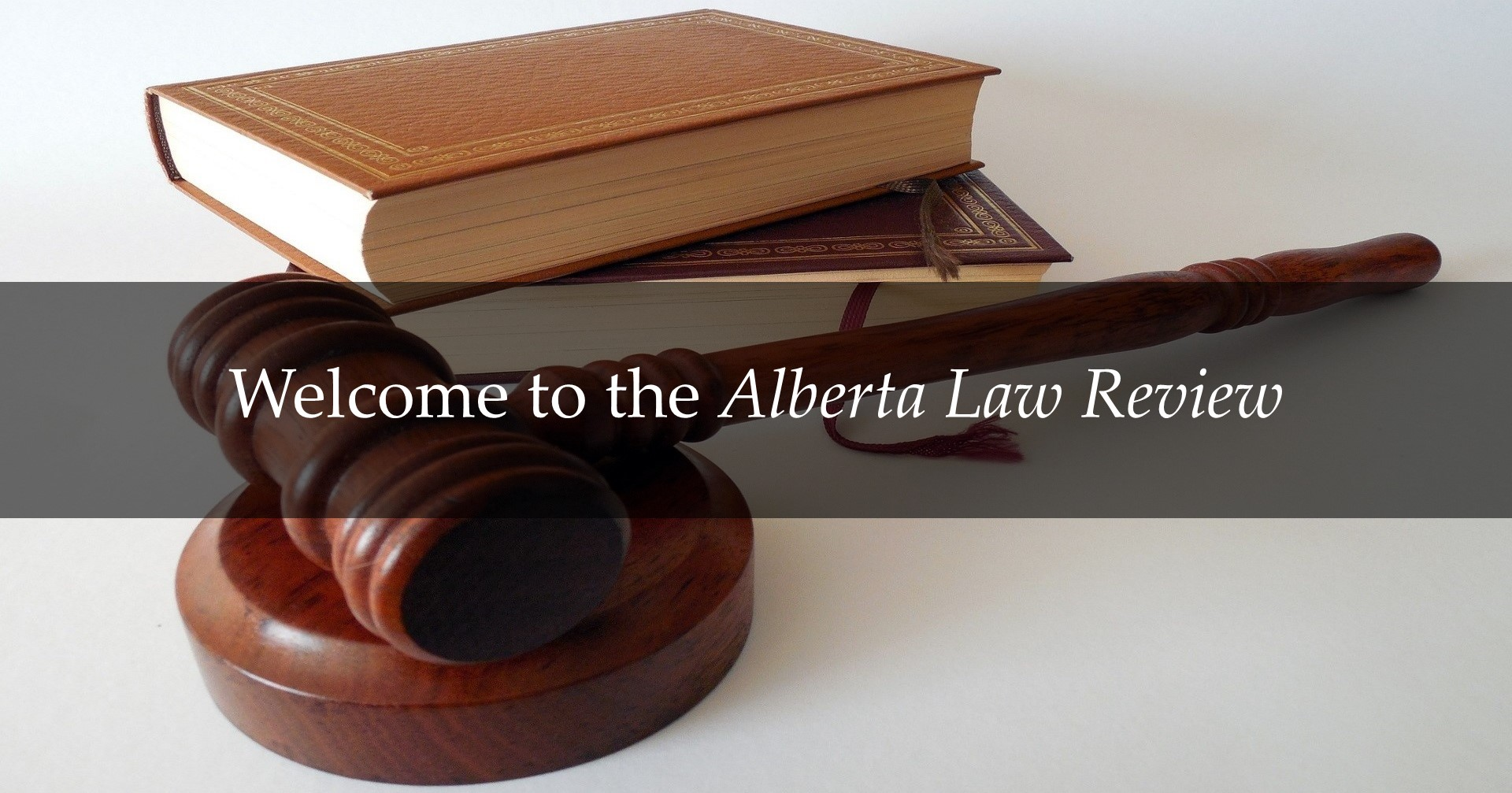 Welcome to the Alberta Law Review